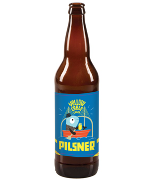 Yellow Cable Pilsner Bottle
