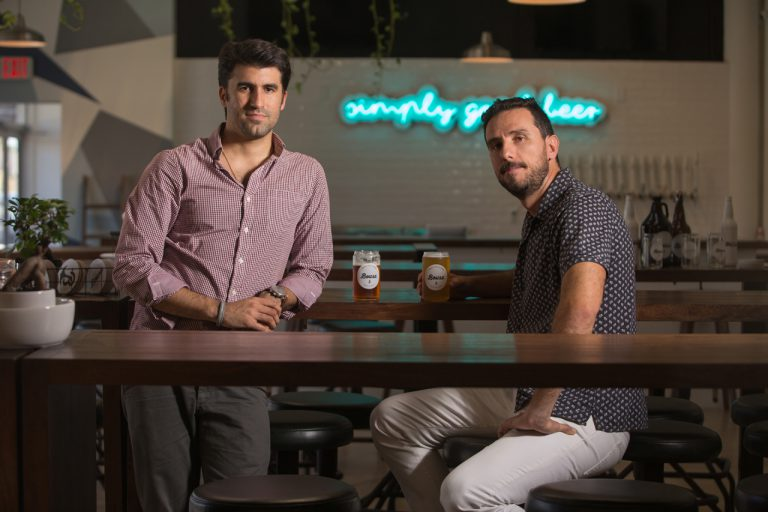 bousa cofounders.juan pablo and enrique